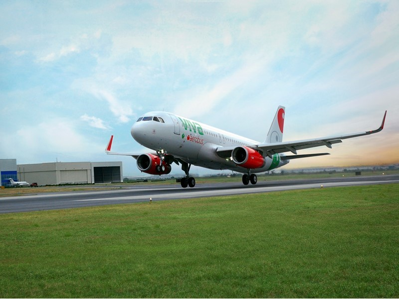 Viva Aerobus Announces First International Route from Mexico City to Las Vegas