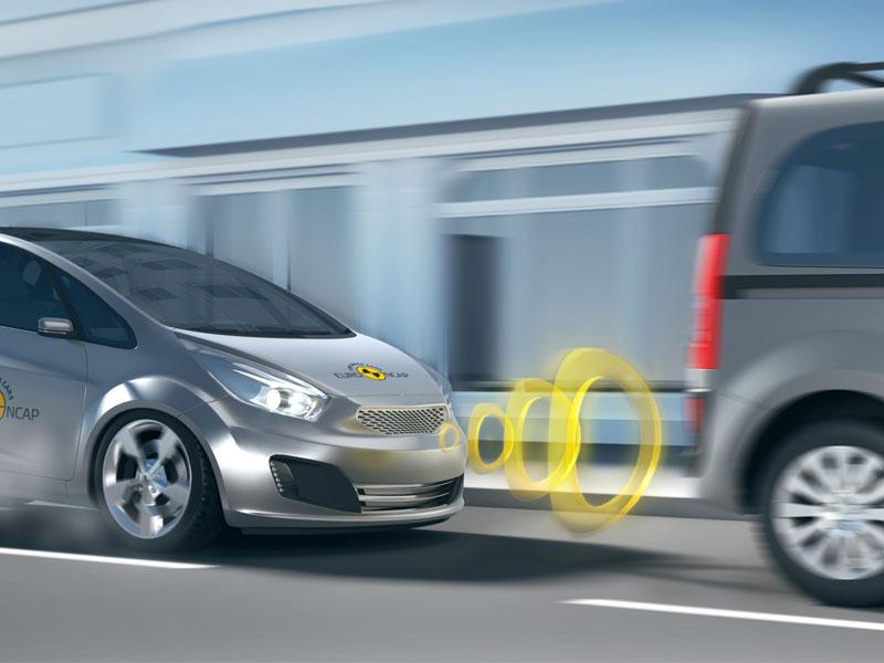 Study Confirms High Effectiveness of Low Speed Autonomous Emergency Braking (AEB)