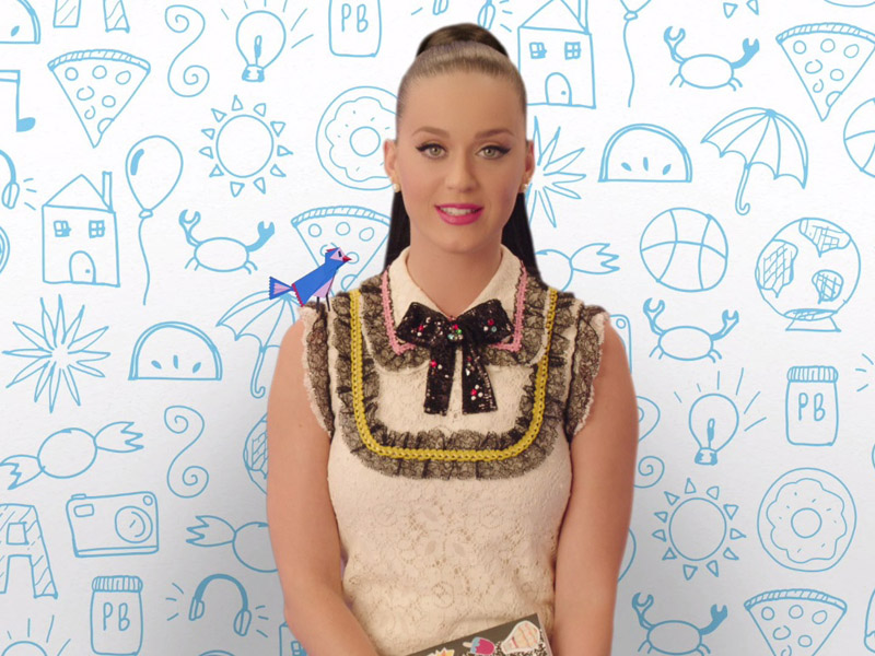 Katy Perry, Staples and DonorsChoose.org Unveil Public Service Announcement