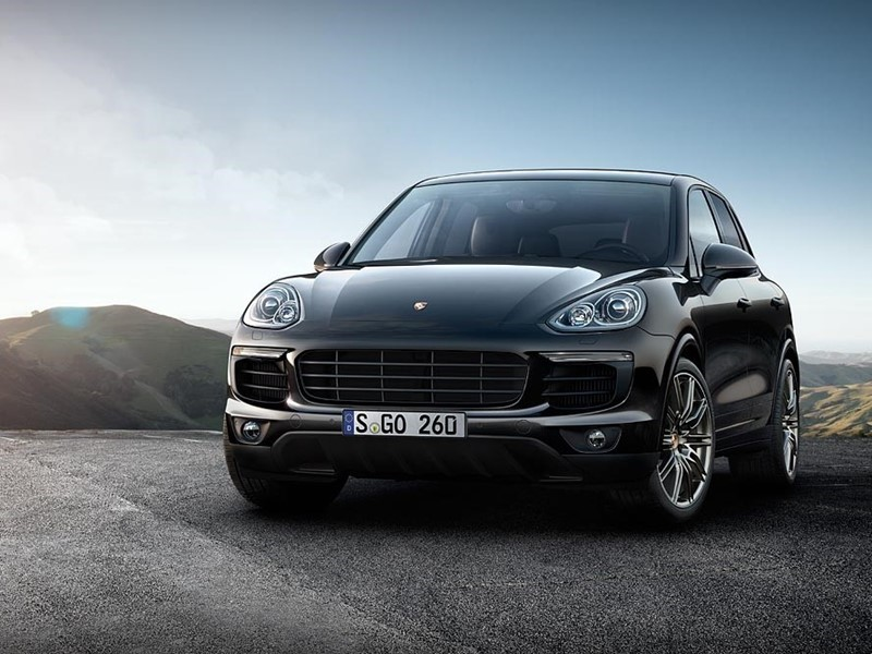 Porsche expands Platinum Edition to include two Cayenne S models