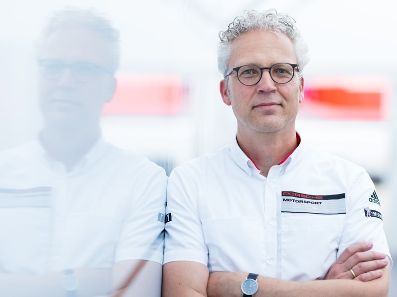 Change at the helm of Porsche Motorsports North America: Daniel Armbruster takes over from Jens Walther