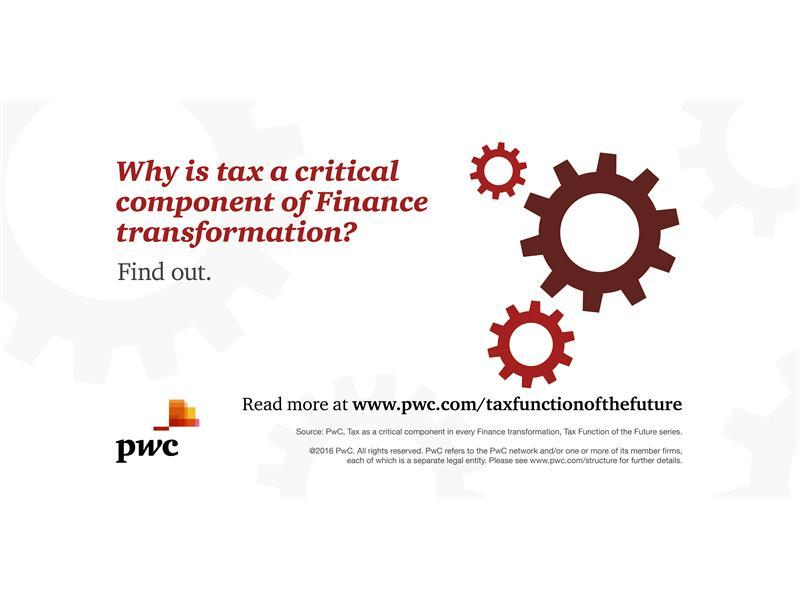 Pressure to streamline finance functions opens business up to risks, if changes don't consider tax needs