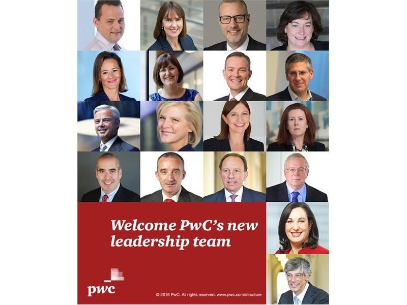 PwC's Network Chairman announces new leadership team