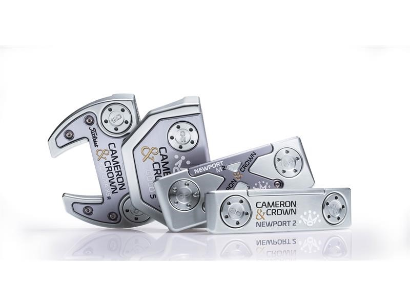 Titleist Introduces New Cameron & Crown Putters by Scotty Cameron