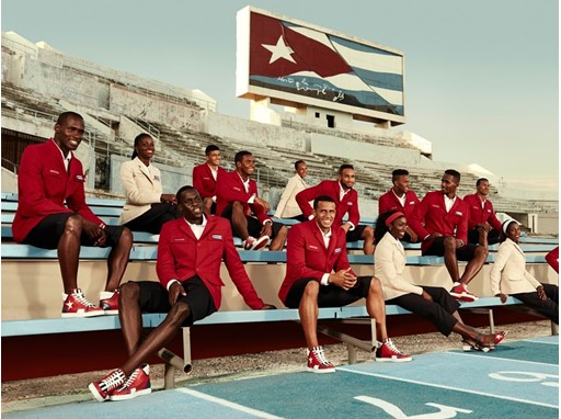 HOMAGE TO MODERN DAY HEROES Christian Louboutin and SportyHenri.com team up to deliver the Cuban National Team with an e