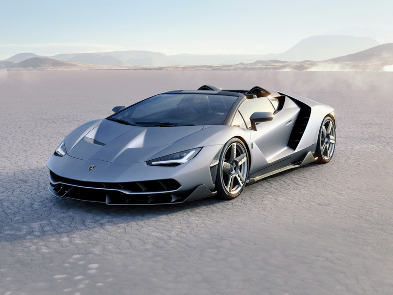 Lamborghini Unveils Centenario Roadster in California, USA: Fluid Open Air Elegance Meets Eengineering Brilliance
