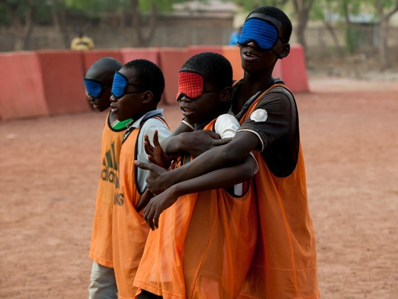 UEFA Foundation for Children Supports Solidarité Aveugle (Blind Solidarity) to Promote and Develop Blind Football Activities in Bamako, Mali