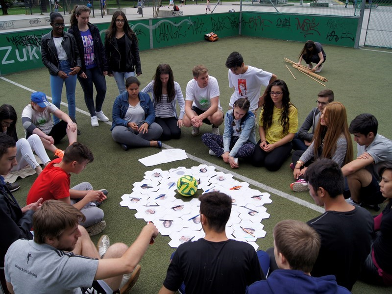 Fostering inclusion through football