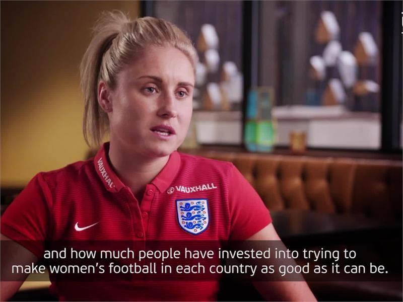 Interview soundbites of Women's EURO 2017 participating countries