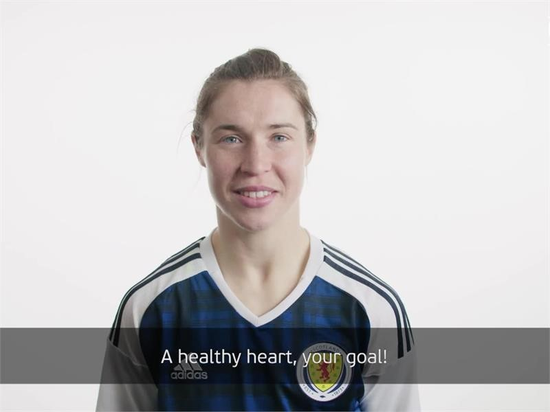 Healthy hearts the goal at Women's EURO