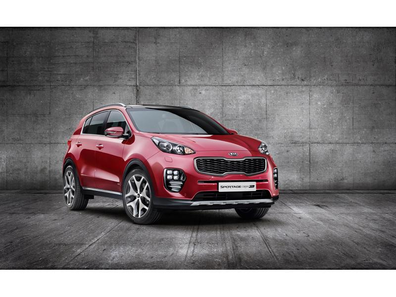 Dynamic energy: Bold new exterior design for next-generation Kia Sportage