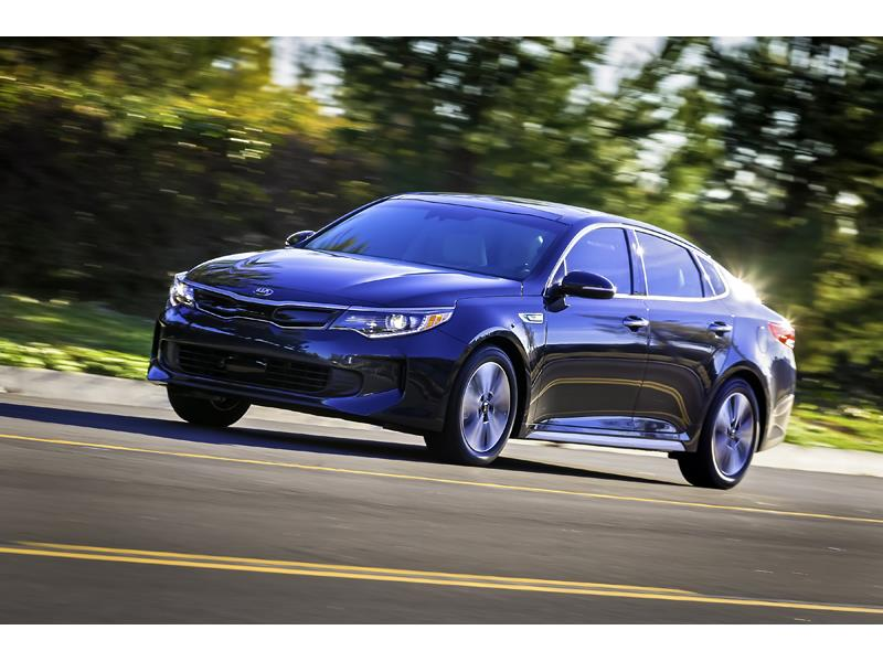 All-new Kia Optima Hybrid unveiled at 2016 Chicago Auto Show