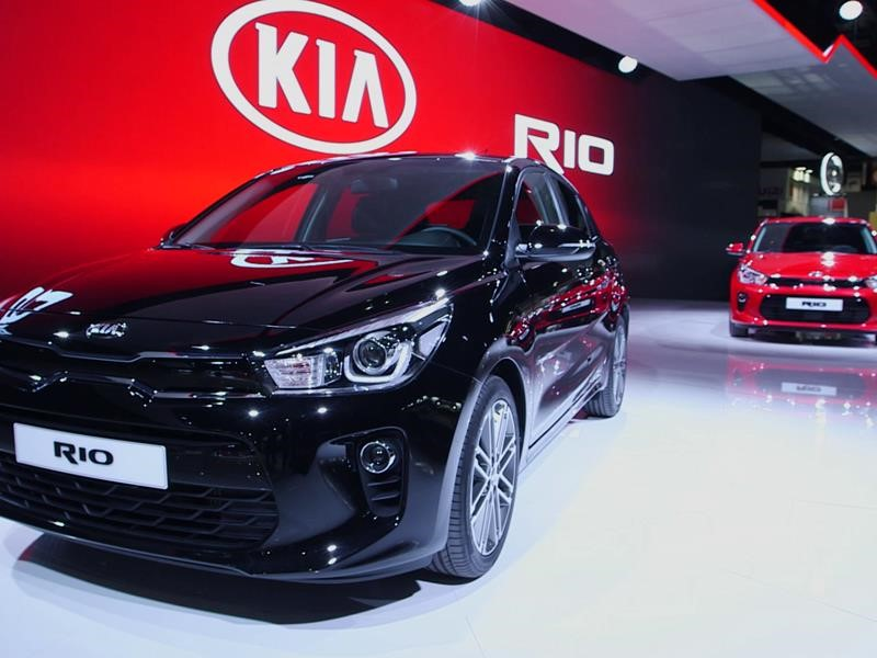 Kia at the 2016 Paris Motor Show