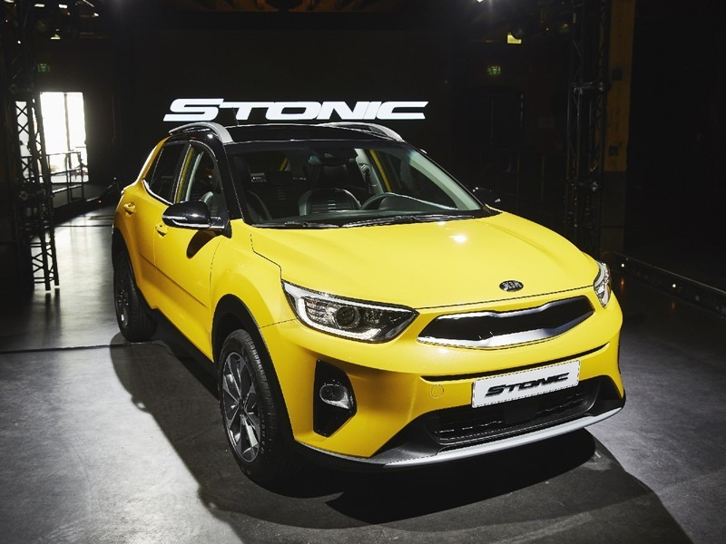 Kia Stonic: an eye-catching and confident compact crossover
