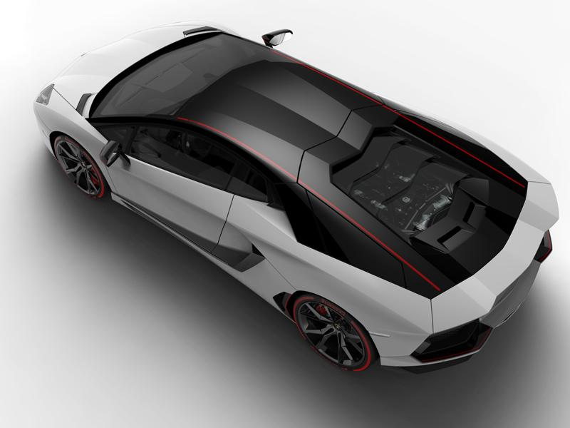 The special series Lamborghini Aventador LP 700-4 Pirelli Edition celebrates the historical collaboration between the two brands