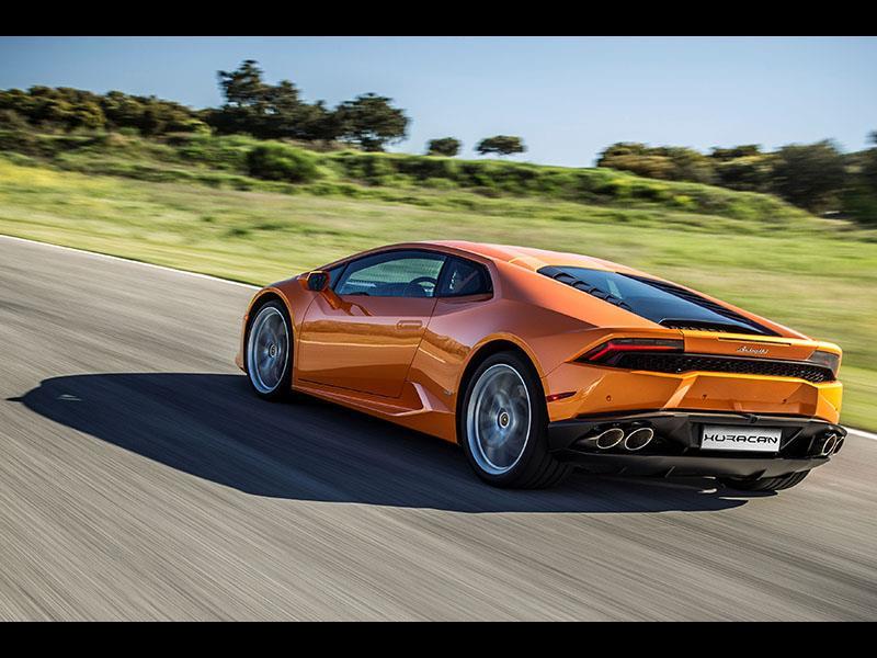 Lamborghini Huracán LP 610-4: Model Year 2016 Product Updates