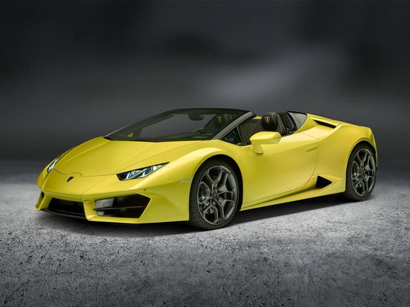 Der Lamborghini Huracán RWD Spyder:  Außergewöhnliches Offen-Fahrerlebnis