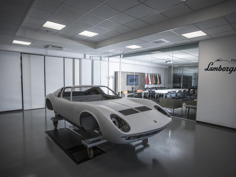 Lamborghini PoloStorico – official opening of new heritage center at Automobili Lamborghini, Sant'Agata Bolognese