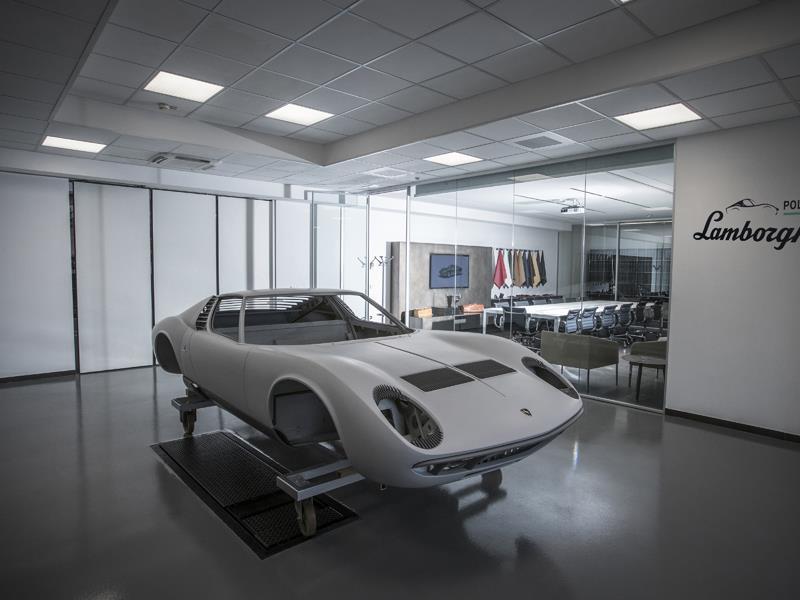 Lamborghini PoloStorico – Apre ufficialmente il nuovo centro dedicato alle Lamborghini classiche presso la sede  di Sant'Agata Bolognese