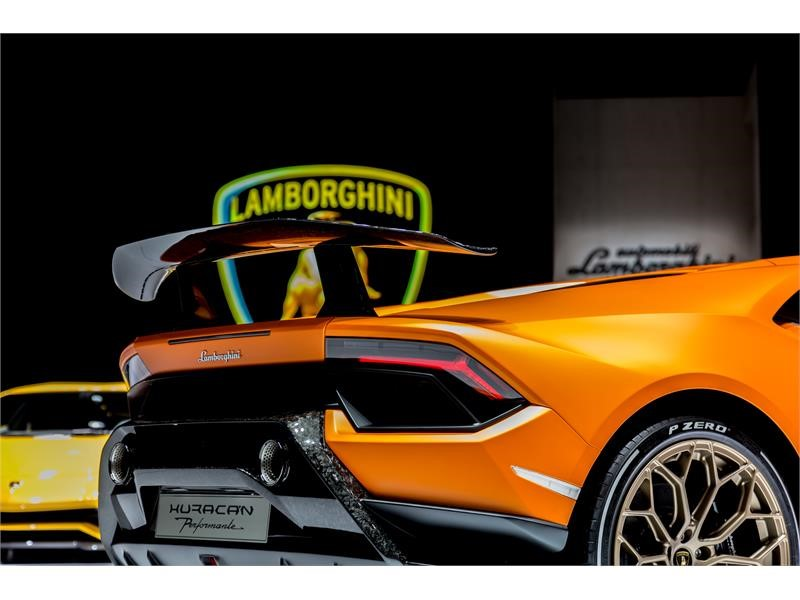 Focused on Performance: The new Lamborghini Huracán Performante - New content available