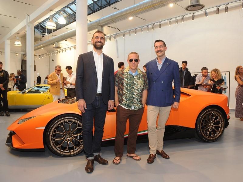 Automobili Lamborghini presents the New 2018 Spring Summer Collection at Milano Moda Uomo