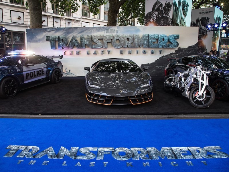 """The Lamborghini Centenario at the London Premiere of """"Transformers: The Last Knight"""""""