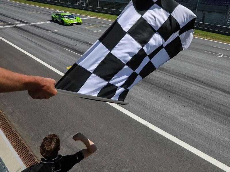 Seconda vittoria consecutiva nell'ADAC GT Masters per la Lamborghini Huracán GT3