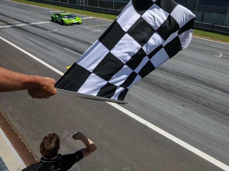 Second consecutive victory in the ADAC GT Masters  for the Lamborghini Huracán GT3