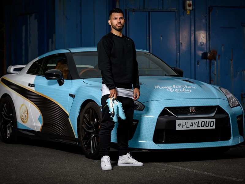 PUMA DELIVER SERGIO AGÜERO'S NEW 'WHEELS' WITH SPEED AND STYLE AHEAD OF THE MANCHESTER DERBY