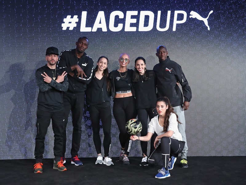 USAIN BOLT AND STAR STUDDED LINEUP STEP UP TO UNVEIL REVOLUTION IN FOOTWEAR