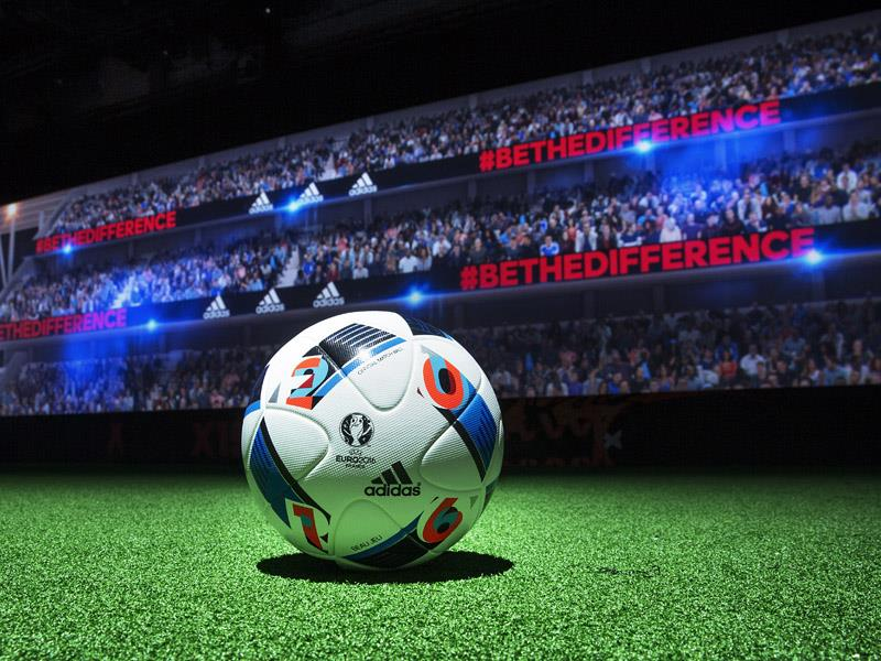 Zinedine Zidane Unveils Beau Jeu: The Official Match Ball of the UEFA EURO 2016™ Group Stages