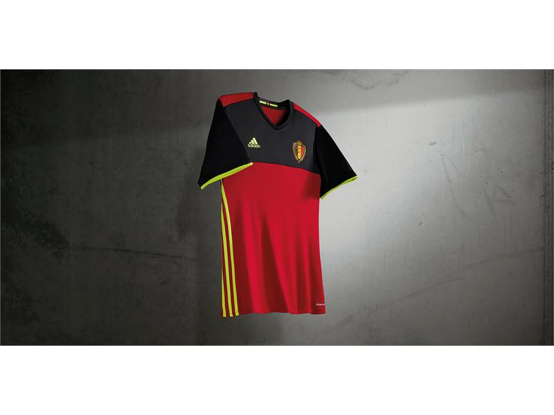 Belgium Reveal New Home Kit Ahead of UEFA EURO 2016™