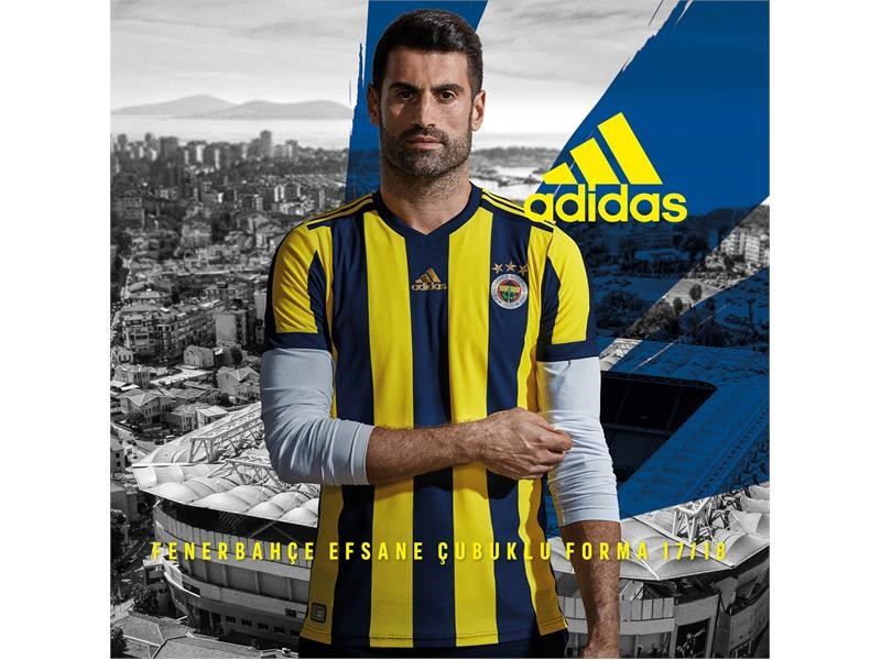 adidas, Fenerbahçe 2017/18 Sezon Formalarını Taraftar ile Buluşturuyor #FARKINIORTAYAKOY