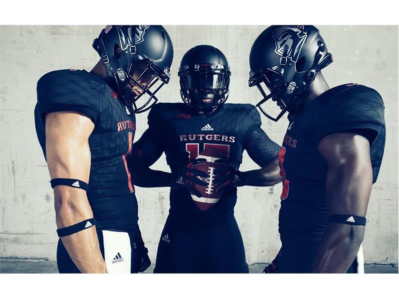 "Rutgers University and adidas Unveil New ""Stadium Lights"" Alternate Uniforms"