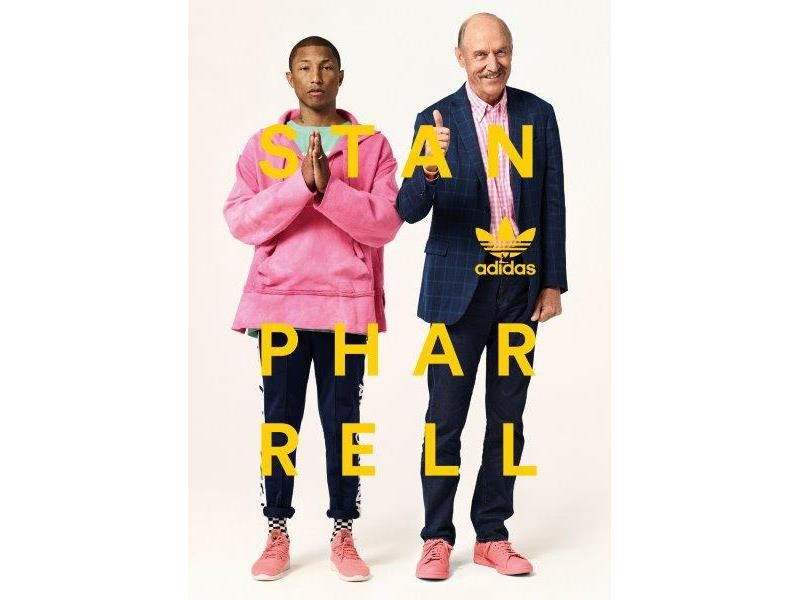Stan Smith ve Pharrell Williams  Birbirinden İlham Aldı