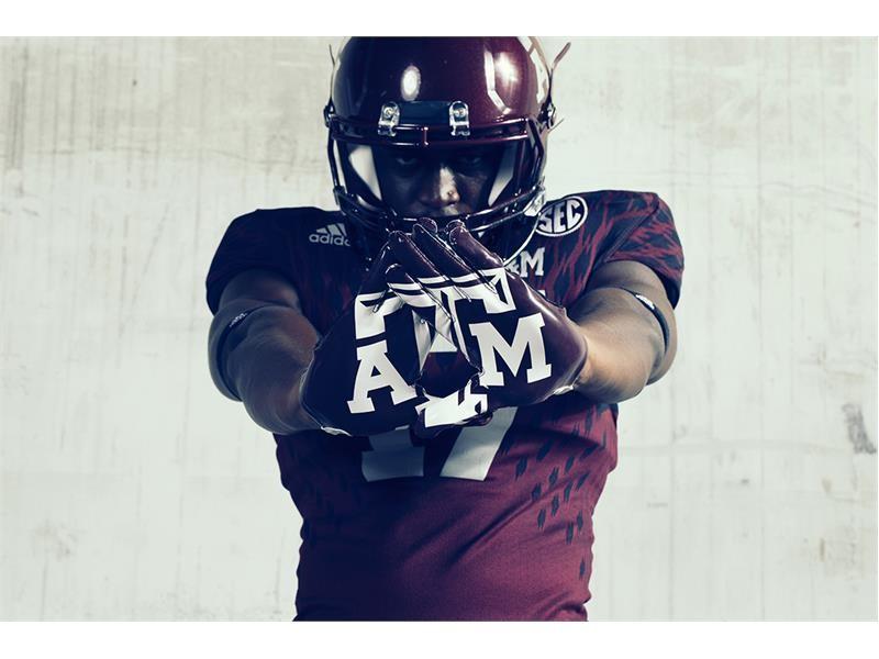 "Texas A&M & adidas Unveil Special Edition ""Bright Lights"" Alternate Football Uniforms"