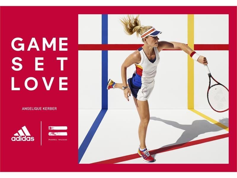"""adidas Tennis Collection by Pharrell Williams""2017年8月21日(月)世界一斉発売開始"
