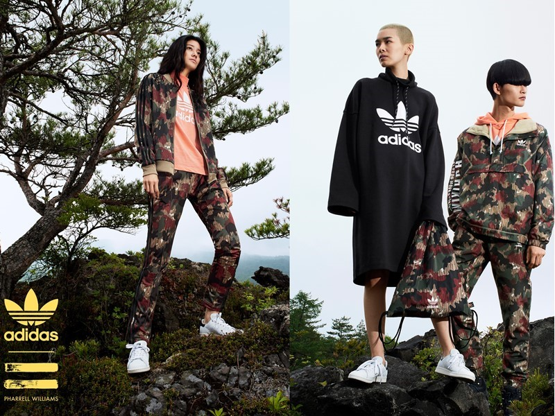 adidas Originals = PHARRELL WILLIAMS Hu Hiking