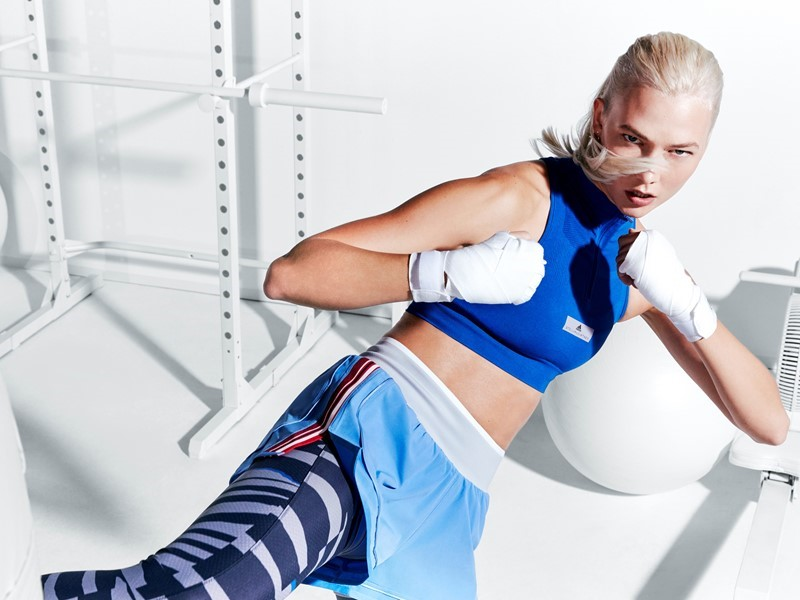 adidas by Stella McCartney reveals the Spring/Summer 2018 collection:  Experience the best of female sportswear