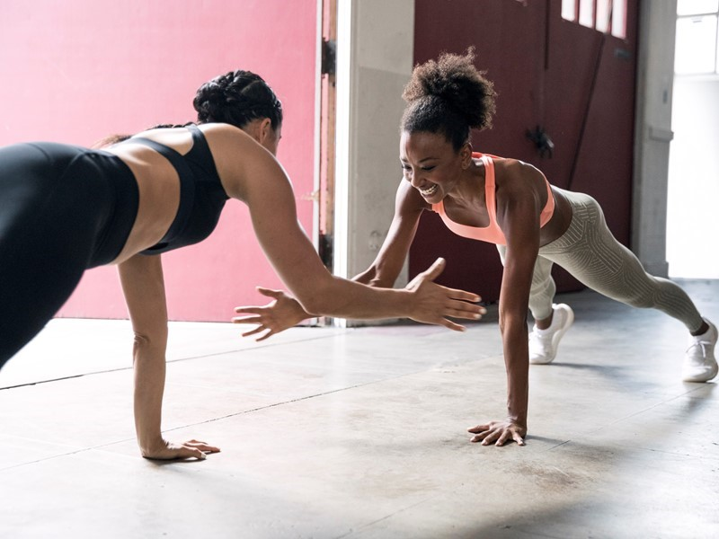 adidas Womens reveals the February 2018 Bras & Tights Mailer with Meagan Kong and Danielle Acoff: Buddy up to better yourself
