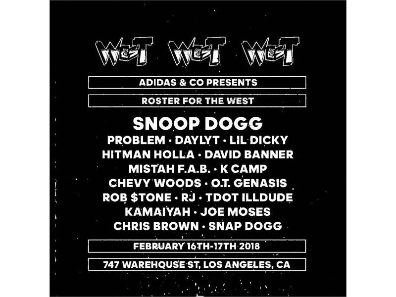 adidas Reveals Lineup of Snoop Dogg Vs. 2chainz Team of Rappers at 747 Warehouse St.