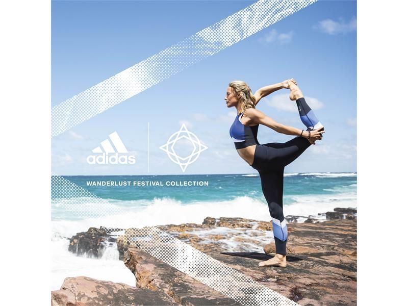 adidas x Wanderlust lansează colecția SS18: face o diferență pentru antrenament și planetă