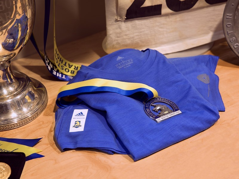 ADIDAS AND THE WOOLMARK COMPANY ANNOUNCE 'BEST IN CLASS' TEE RESERVED FOR AND EARNED BY TOP 2018 BOSTON MARATHON FINISHERS