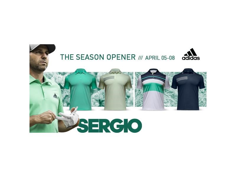 adidas Golf Announces Player Apparel for Year's First Major