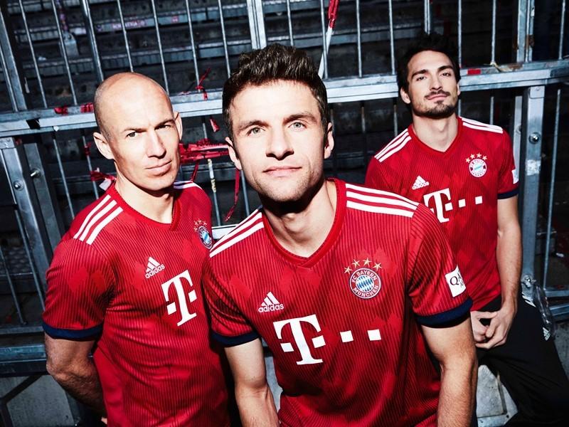 adidas Football revela el nuevo uniforme local de FC Bayern para la temporada 2018/19