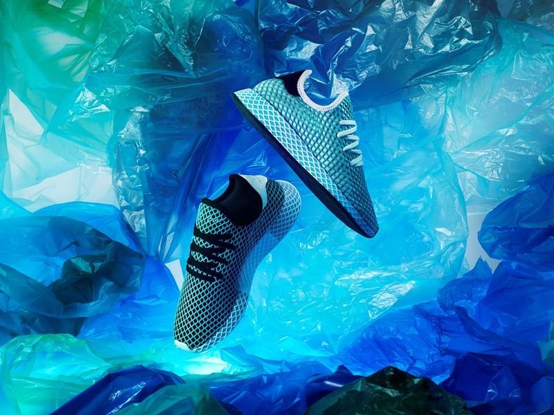 Von der Plastikflasche zum Sneaker –  der neue DEERUPT PARLEY