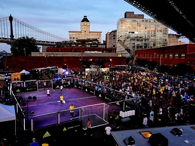 ADIDAS CELEBRATES SOCCER IN NEW YORK;  CROWNS ALEXIS SANTA NEW YORK CITY TANGO MVP
