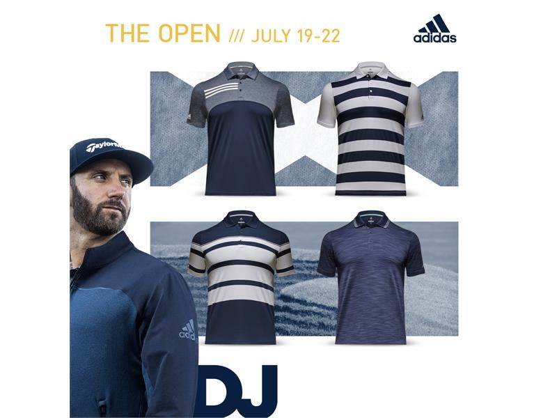 adidas Golf Unveils Apparel for 2018 Open Championship at Carnoustie