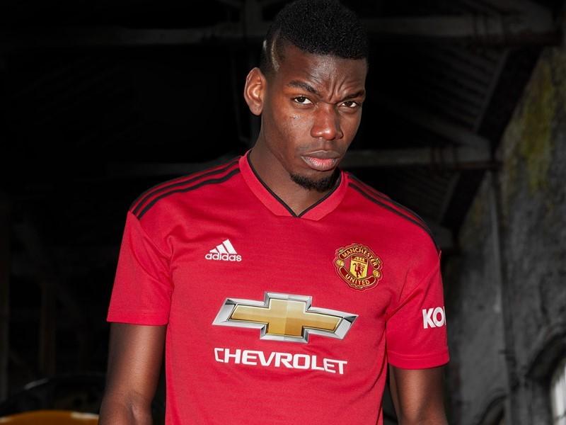 adidas e Manchester United lançam camisa principal para a temporada 18/19