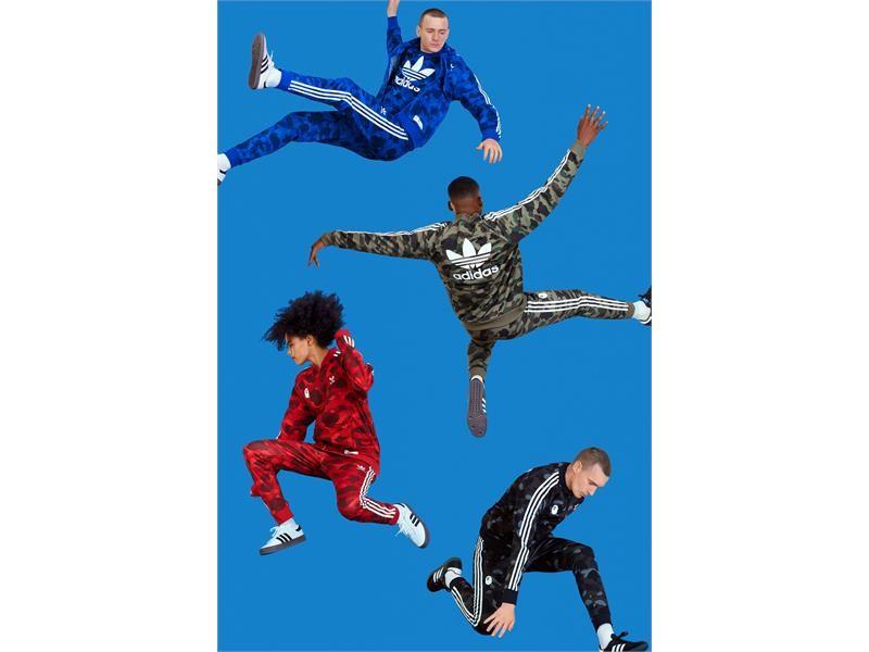 Color, camuflaje y cultura en la nueva colaboración de adidas Originals x A BATHING APE®